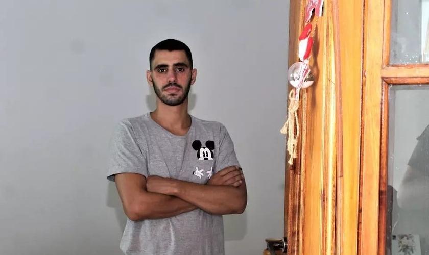 """Geovani Santos: """"Foi um momento muito feliz ver que minha fé estava sendo concretizada"""". (Foto: Ernesto Rodrigues / O Liberal)"""
