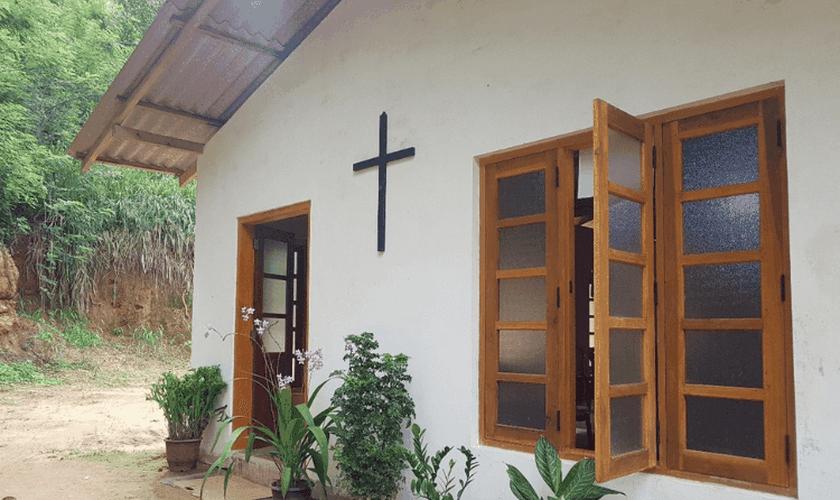 Cristãos do Sri Lanka têm sofrido com a intolerância religiosa no país. (Foto: Portas Abertas)