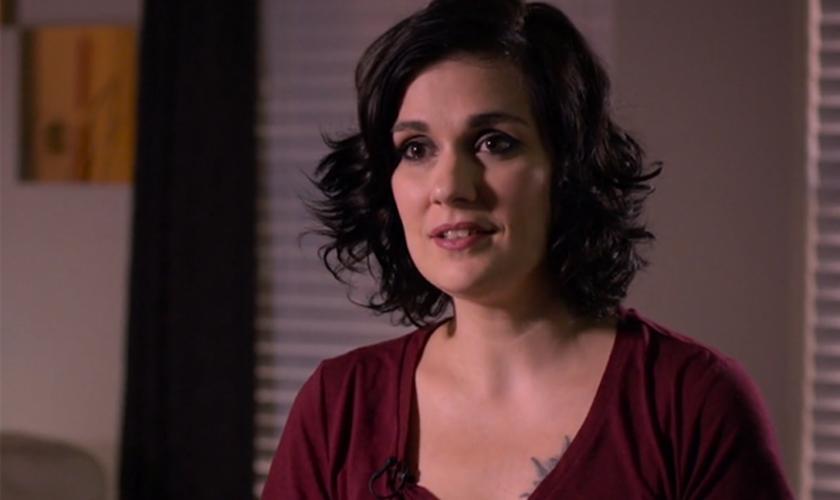 Rachael Havupalo testemunha sua história de superação pela fé em Jesus. (Reprodução / God Reports)