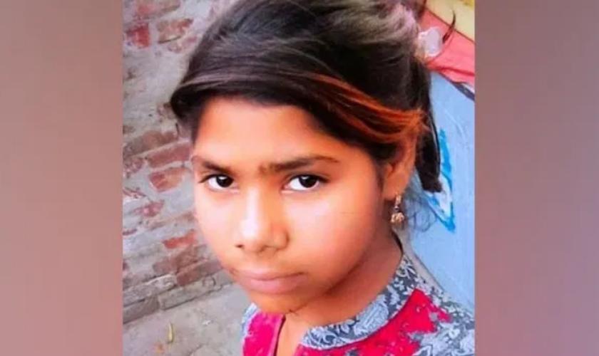 A cristã Farah Shaheen foi sequestrada e obrigada a se casar com muçulmano. (Foto: Reprodução / Morning Star News)