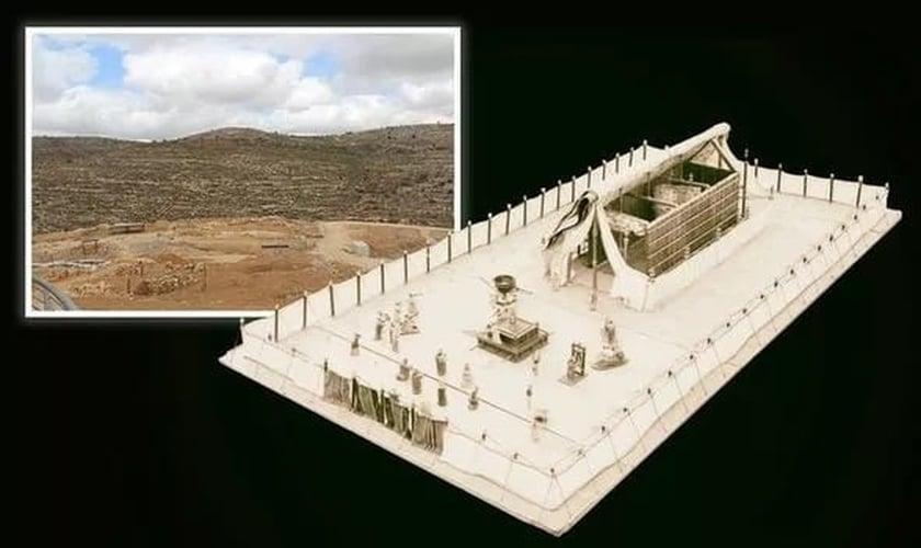 Pistas revelaram o local do Tabernáculo Bíblico. (Foto: Reprodução / Express)
