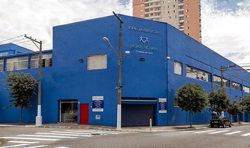 Fachada da Igreja Batista Boas Novas, na zona leste de São Paulo. (Foto: Reprodução / Igreja Boas Novas)