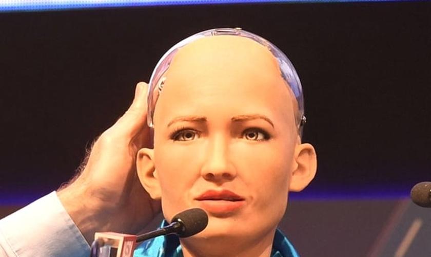 Sophia, a robô humanoide (Foto: Reprodução/Economictimes)