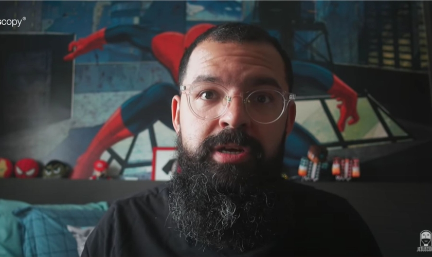 Douglas Gonçalves, líder do ministério JesusCopy. (Foto: Reprodução/YouTube)