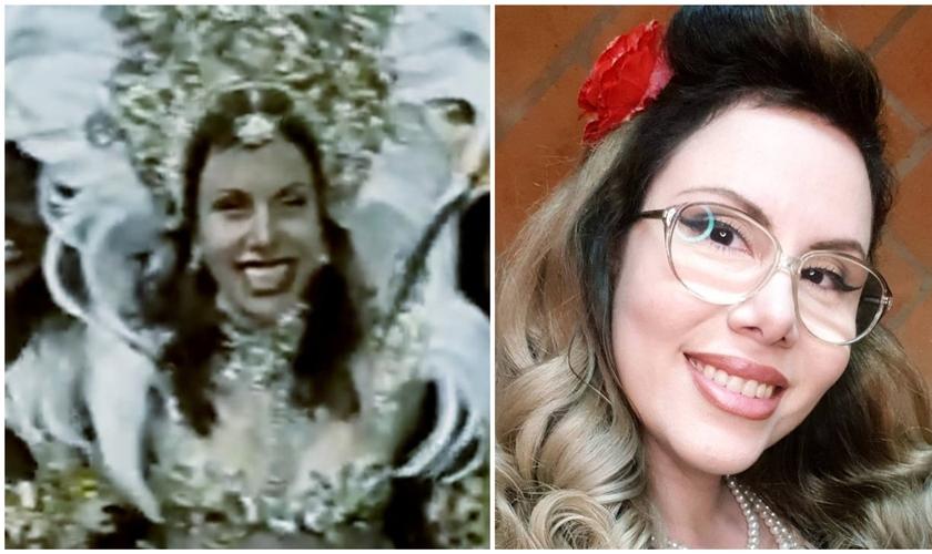 Sarah Sheeva em fotos que mostram sua vida antes e depois de conhecer Jesus. (Foto: Reprodução / Instagram)