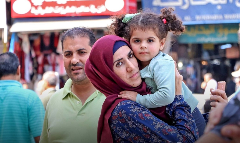 Mulheres cristãs convertidas do islamismo são as mais vulneráveis à perseguição. (Foto: Portas Abertas)