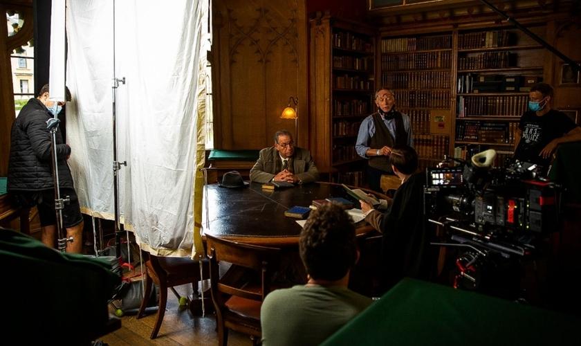"""Um dos cenários do filme """"O mais relutante dos convertidos"""", em Oxford. (Foto: Alexander Whittle/1A Productions)"""