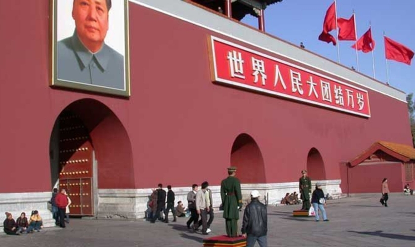 A perseguição na China é institucionalizada. (Foto: Portas Abertas)