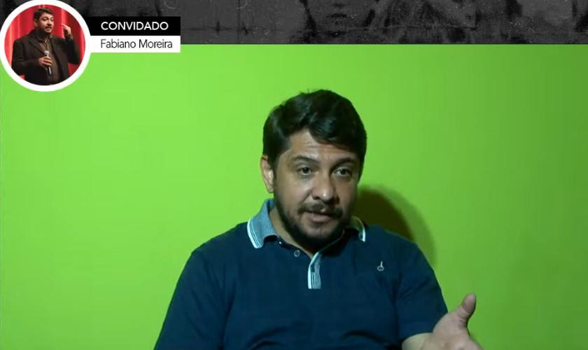 Fabiano Moreira, diretor da CIA Alvo de Teatro e presidente da ACRIART (Associação Cristã de Artistas). (Foto: Reprodução / YouTube)