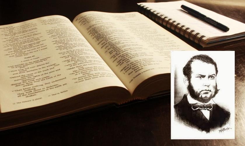 Data de nascimento de José Manuel da Conceição [no destaque] deu origem ao Dia da Educação Cristã. (Foto: Reprodução/Alderi Souza de Matos)