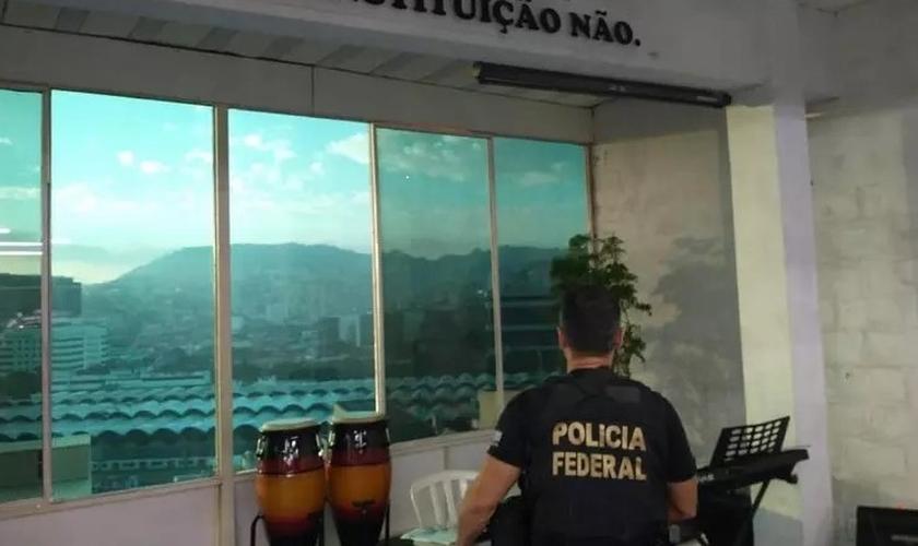 Polícia Federal investiga crimes de racismo contra judeus no Rio. (Foto: Divulgação / PF)