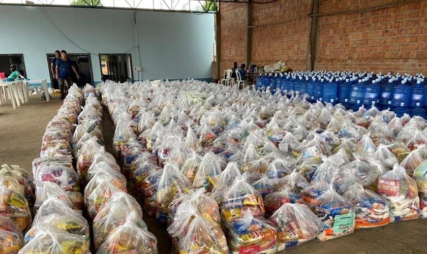A SENAMI convocou os crentes de todo o país a socorrer a população acreana através da Campanha SOS Acre. (Foto: Instagram/SENAMI).