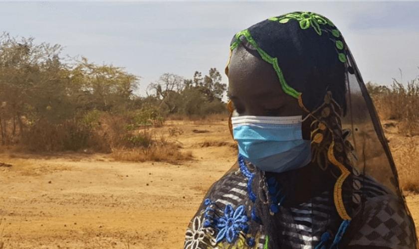 Salamata enfrentou o ataque de radicais islâmicos juntamente com outros irmãos em Burkina Faso.