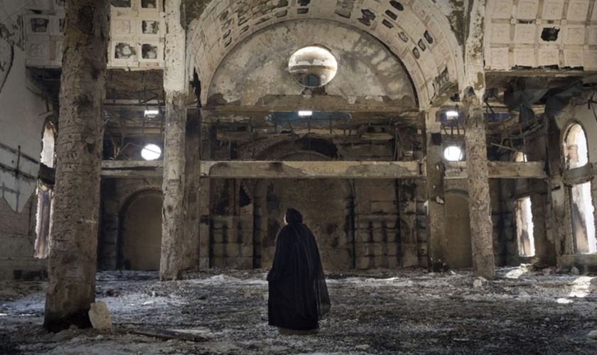 A igreja copta do Egito enfrenta ataques por meio de incêndios. (Foto: Portas Abertas)