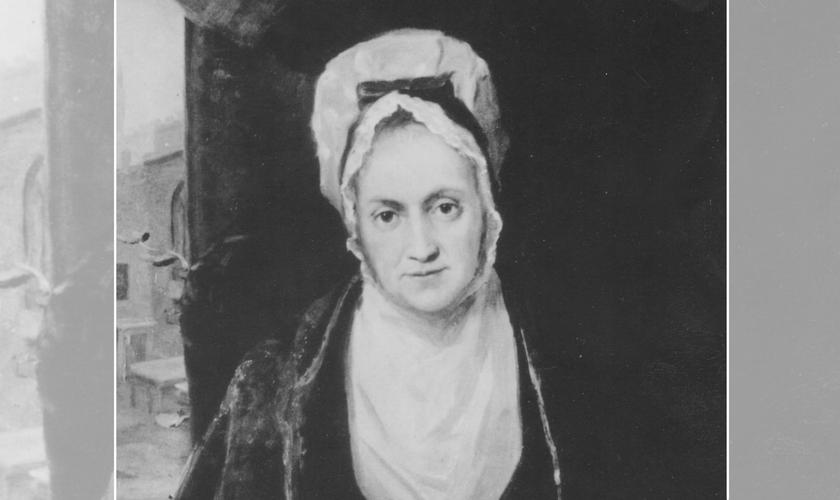 Susanna Wesley, mãe dos pregadores Charles e John Wesley. (Cortesia da Comissão Geral Metodista Unida de Arquivos e História).
