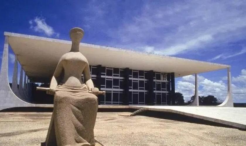 Sede do Supremo Tribunal Federal (STF), em Brasília. (Foto: Orlando Brito/VEJA)