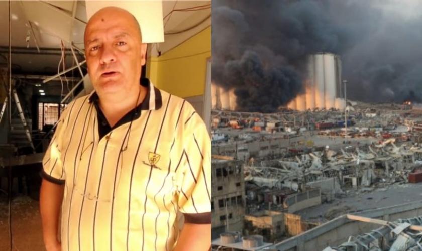 A explosão no porto de Beirute, no Líbano, em 2020, deixou grande parte do centro da cidade em escombros e mais de 200 mortos. (Foto: Reprodução/Reuters).