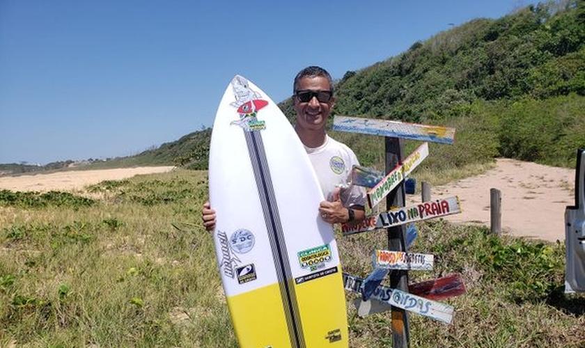 Robson Saião foi o fundador do Seminário Surfistas de Cristo. (Foto: Arquivo pessoal).