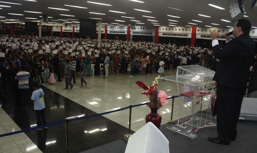Comandada pelo pastor Silas Câmara, a IEADAM é a igreja evangélica com o maior número de fiéis em Manaus. (Foto: Divulgação)