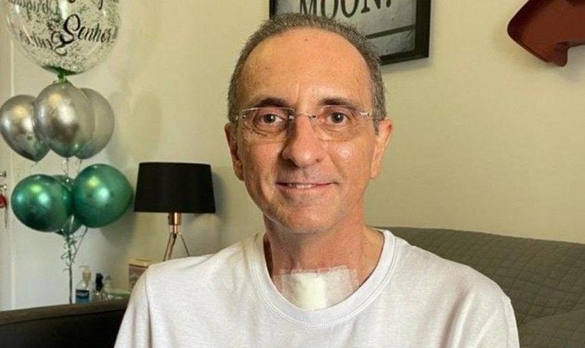 A cura de Luiz Antônio foi resultado de oração da família e amigos. (Foto: Arquivo pessoal).