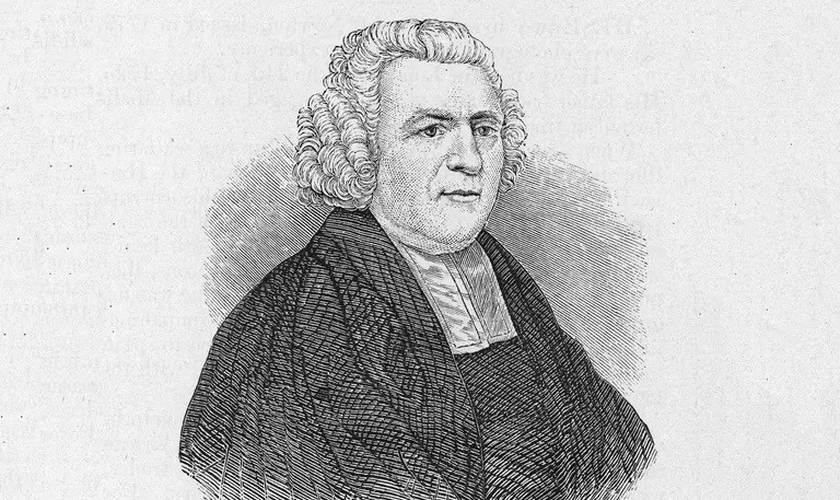 "John Newton, clérigo e poeta religioso inglês, autor do popular hino ""Amazing Grace"". (Foto: Arquivo Hulton / Imagens Getty)"