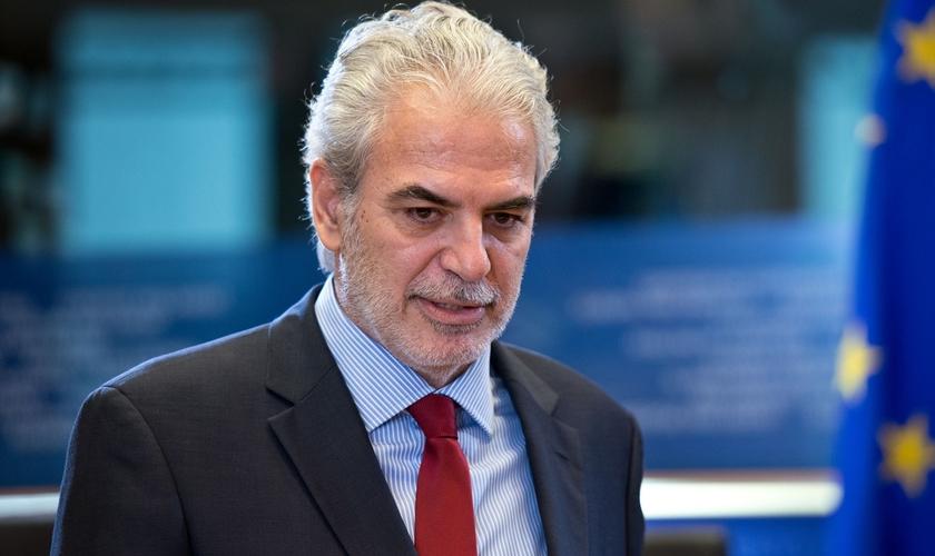 Christos Stylianides, enviado especial para a promoção da liberdade de religião fora da União Europeia. (Foto: Parlamento Europeu/Kovacs Gabor)
