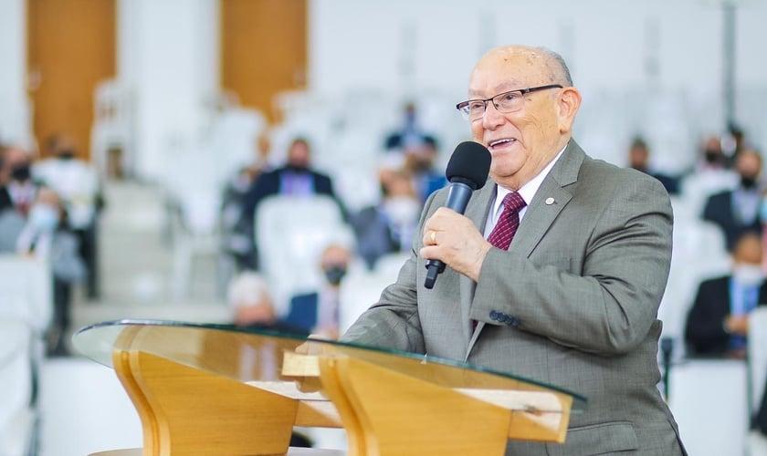 O pastor José Wellington Bezerra está internado com Covid-19 em SP. (Foto: Reprodução/ Facebook).