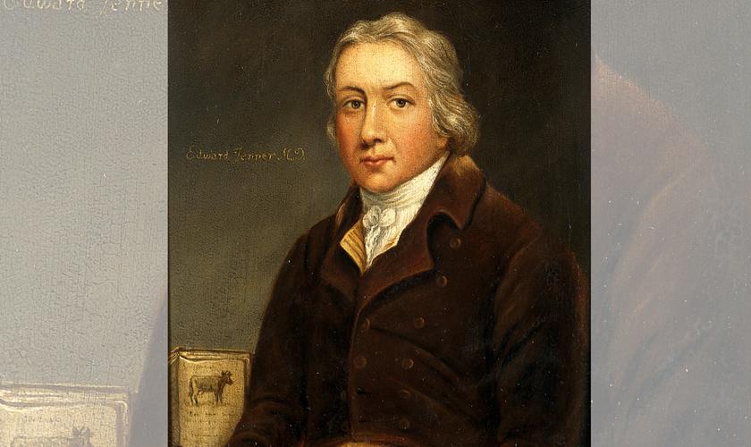 Pintura retrata o médico Edward Jenner. (Foto: Reprodução / Britannica)