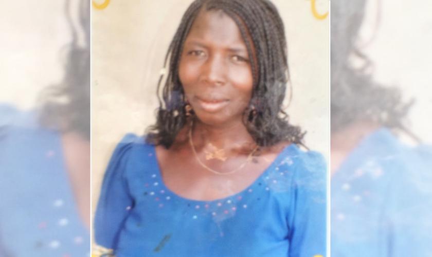 Ruth Adamu, morta na vila de Dong, Jos, Nigéria, em 23 de maio de 2021. (Foto: Reprodução / Morning Star News)
