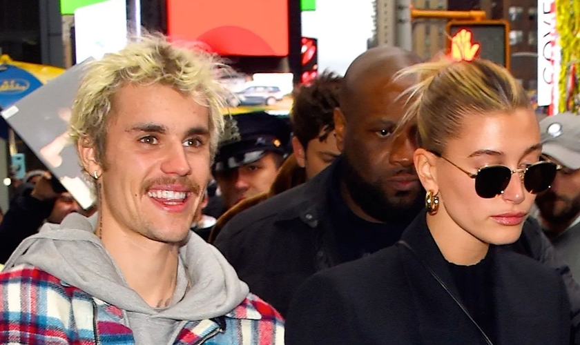 Justin Bieber e Hailey Baldwin, casados desde 2018. (Foto: Robert Kamau/GC Image)