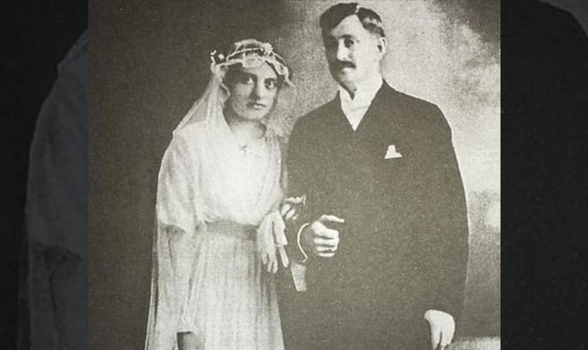 Gunnar e Frida se casaram no dia 16 de outubro de 1917, em Belém do Pará, numa cerimônia celebrada pelo Missionário Samuel Nyström. (Foto: CPAD).