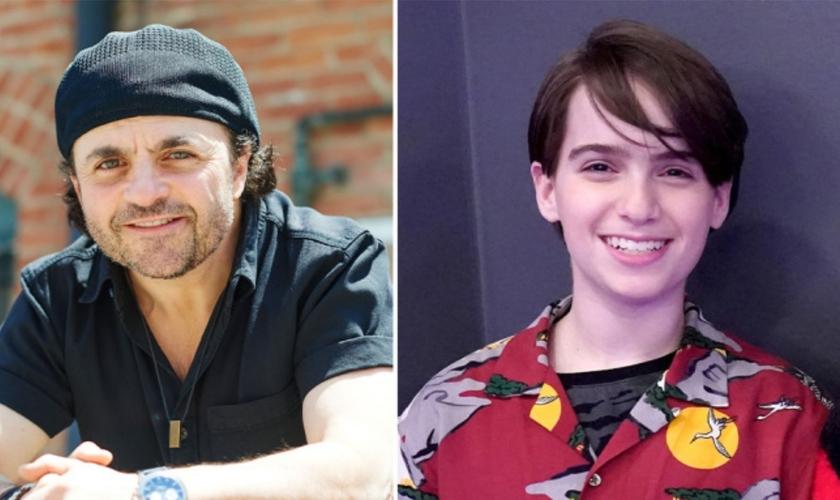O ator canadense Michael D. Cohen e Sasha Cohen, de 13 anos, escalada para atuar na série Danger Force. (Foto: Cortesia/Nickelodeon)