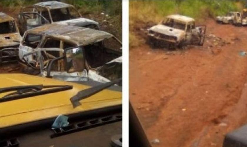 Grupo atacou comboio formado por cristãos evangélicos. (Foto: Reprodução / Association Evangelicals Africa)