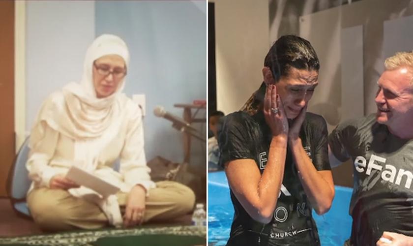 Hedieh Mirahmadi teve a vida transformada após um encontro com Jesus. (Foto: CBN News)