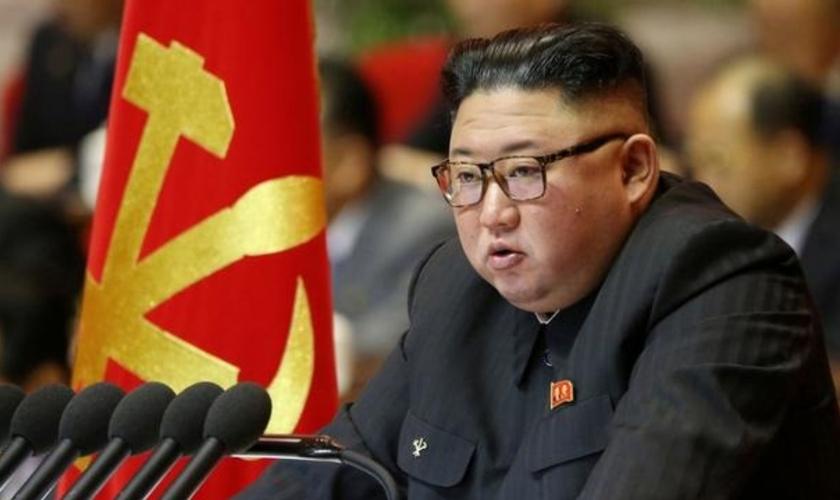 O ditador Kim Jong-un sustenta o que é indiscutivelmente o regime mais repressivo do mundo. (Foto: Reuters)
