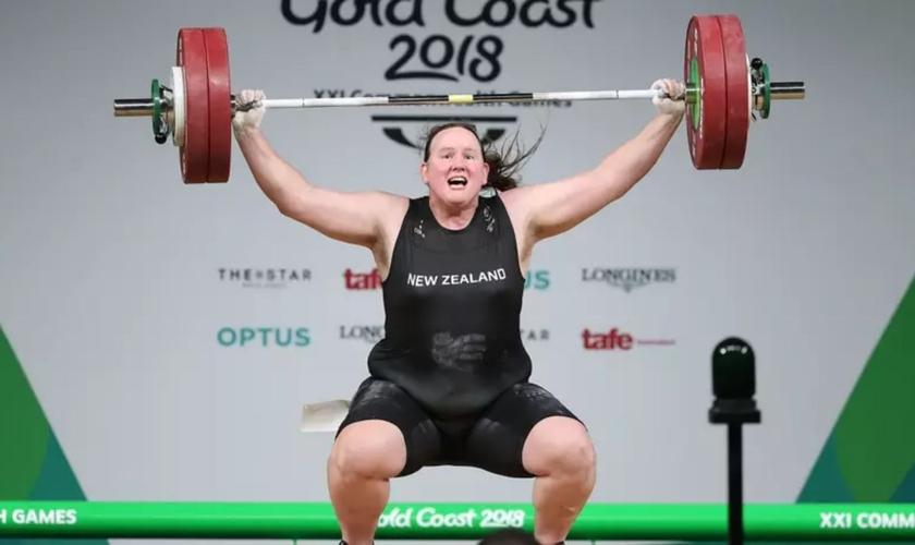 O halterofilista Laurel Hubbard, da Nova Zelândia, será o primeiro atleta transgênero a competir nas Olimpíadas. (Foto: Getty Images)