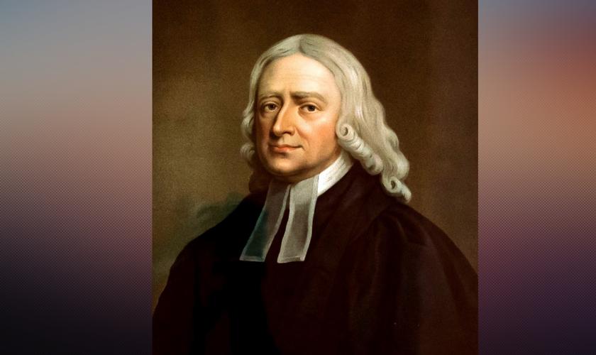 Pintura de John Wesley. (Foto: Reprodução / Inspirational Christians)