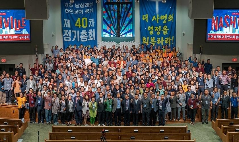 Conselho das Igrejas Batistas do Sul da Coréia na América. (Foto: Chinsop Chong / Baptist Press).