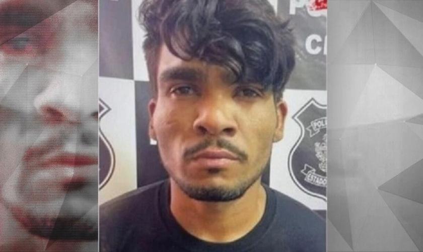 Lázaro Barbosa foi preso nesta segunda-feira, segundo Ronaldo Caiado. (Foto: Reprodução)