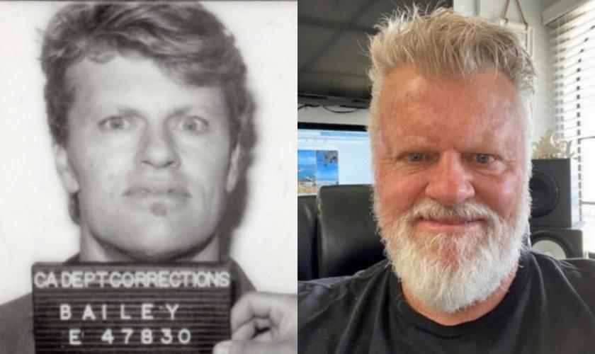 Scott Bailey encontrou Deus na prisão e sua vida foi transformada. (Foto: Arquivo pessoal).