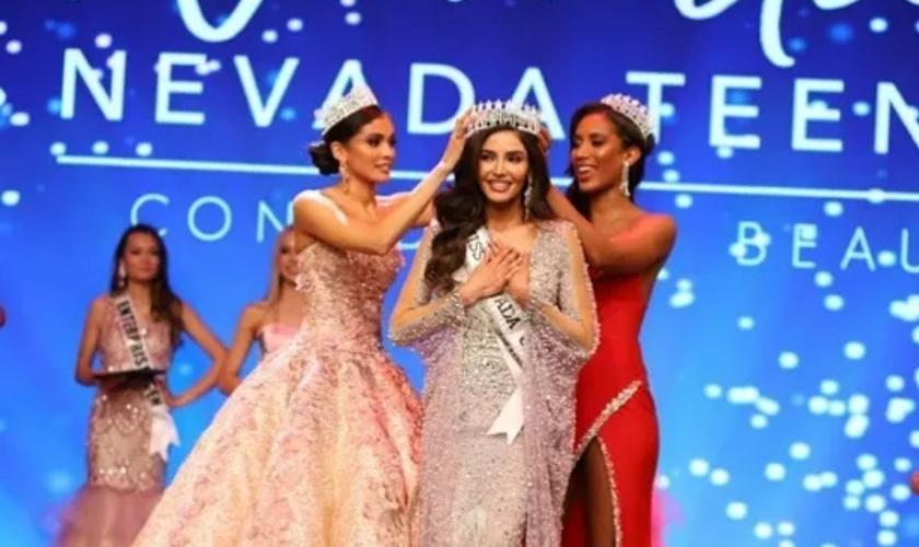 O transgênero Kataluna Enriquez venceu o concurso Miss Nevada, nos EUA. (Foto: Reprodução/Instragram)