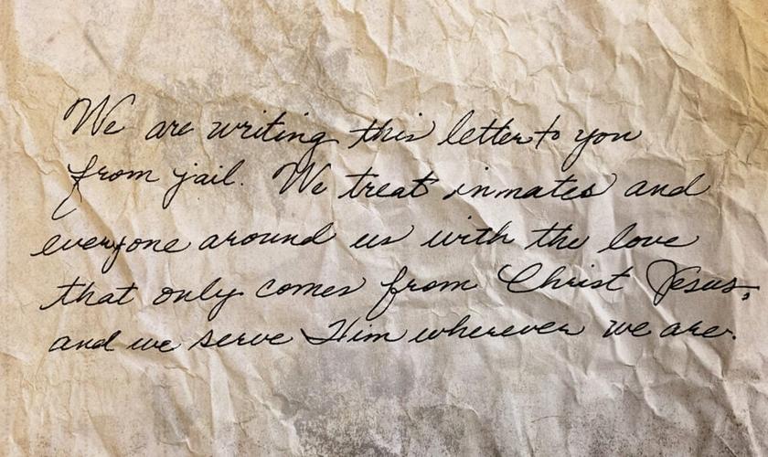 Em carta escrita da prisão, o casal cristão contou como tem enfrentado a perseguição. (Foto: IMB).