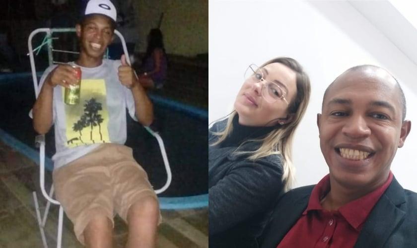Rafael Trindade passou 20 anos viciado em crack até ter um encontro com Jesus através de um evangelismo de rua. (Foto: Arquivo pessoal).