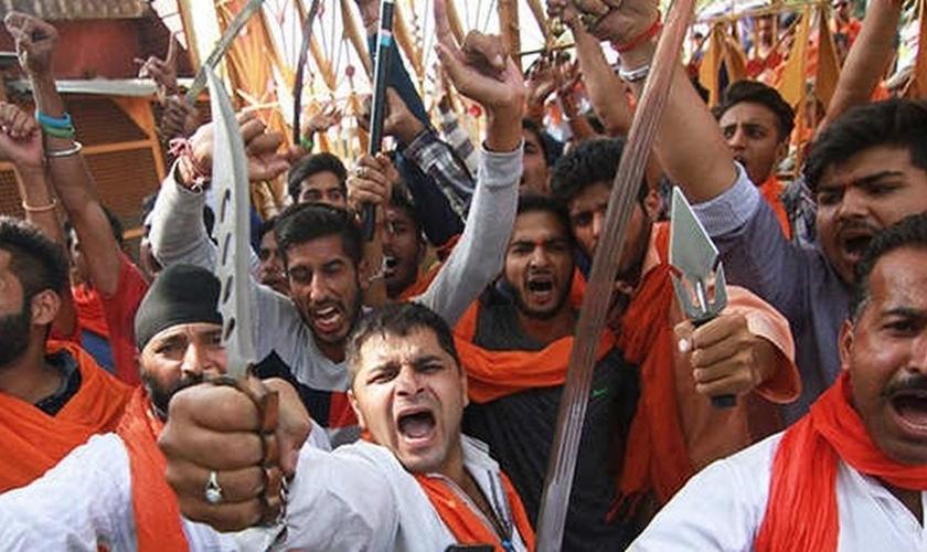 Cresce o número de mortes e violência física de radicais hindus contra cristãos. (Foto Representativa: Reprodução/India Times)