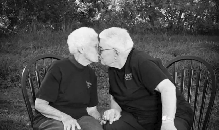 James e Wanda foram casados por 73 anos. (Foto: Reprodução KCCI News).