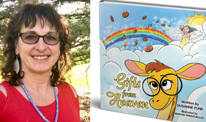 Susanne Funk, autora de 'Gifts from Heaven'. (Foto: Reprodução / CHVN)