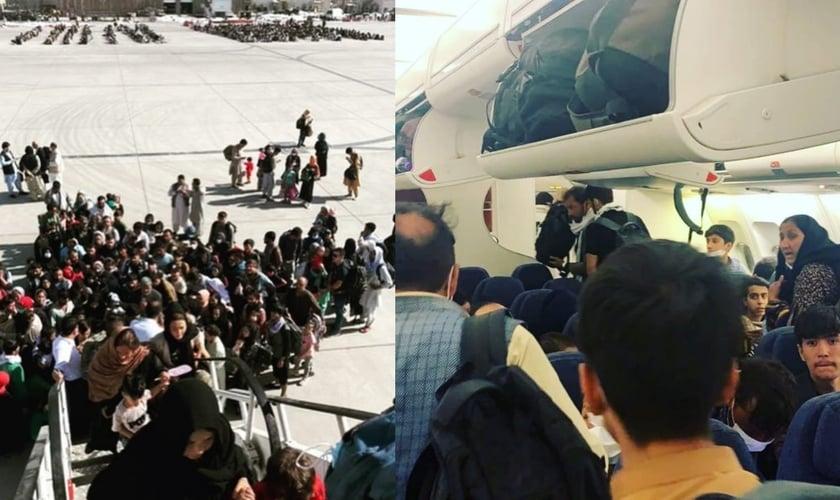 Até o final de semana, cerca de 7 mil cristãos serão evacuados do Afeganistão. (Foto: Reprodução/Facebook).