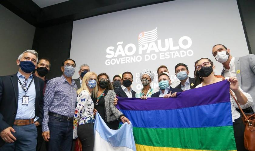 Governo de São Paulo lança Delegacia da Diversidade Online. (Foto: Governo de São Paulo / Divulgação)