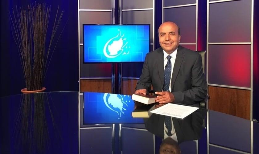 Pastor Shoaib Ebadi, da rede satélite SAT-7. (Foto: Reprodução / SAT-7)