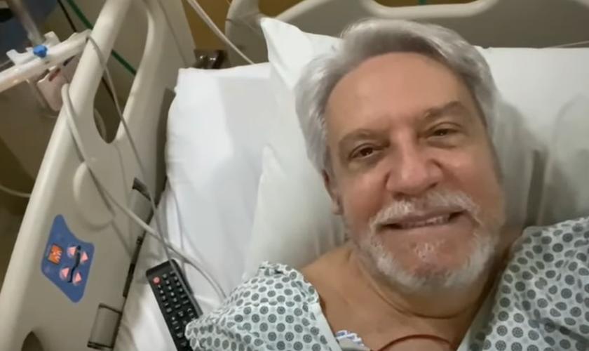 Juanribe Pagliarin foi internado na UTI com embolia pulmonar neste sábado (11). (Foto: Reprodução/Facebook).